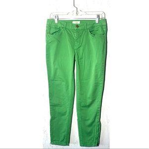 ☘️ZARA GREEN JEANS Women's Size 6☘️